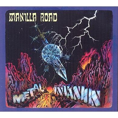Manilla Road METAL / INVASION CD