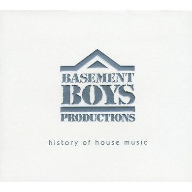 Basement Boys Productions HISTORY OF HOUSE MUSIC CD