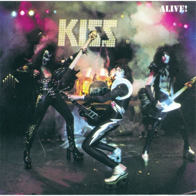 Kiss ALIVE: GERMAN VERSION CD