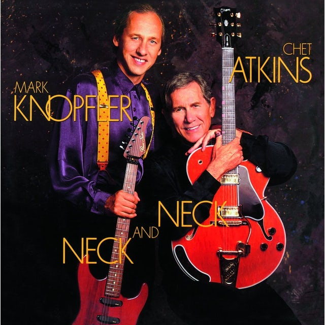 Chet Atkins & Mark Knopfler NECK & NECK Vinyl Record