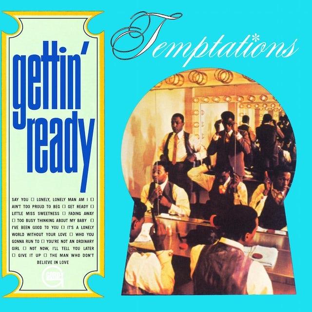 The Temptations GETTIN' READY Vinyl Record