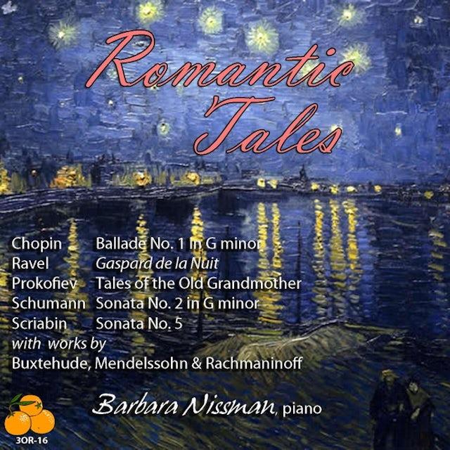 Barbara Nissman ROMANTIC TALES CD