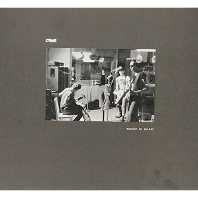 Crime MURDER BY GUITAR Vinyl Record