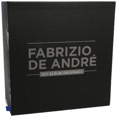 Fabrizio De André GLI ALBUM ORIGINALI Vinyl Record - Italy Release