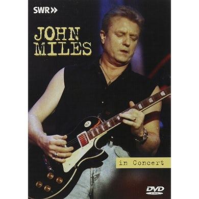 John Miles IN CONCERT-OHNE FILTER DVD