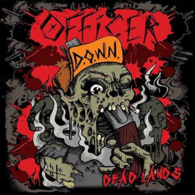 Officer Down DEAD LANDS CD