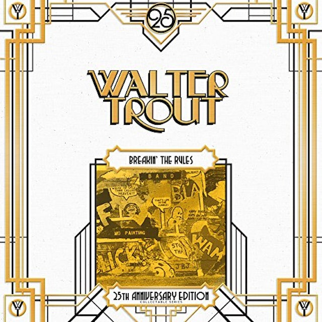 Walter Trout BREAKIN' THE RULES-25TH ANNIVERSARY SERIES LP 5 Vinyl Record