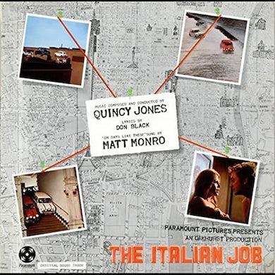 Quincy Jones ITALIAN JOB Vinyl Record