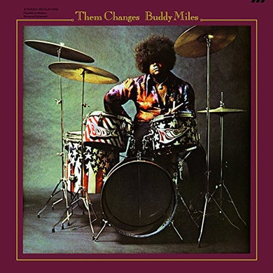 Buddy Miles THEM CHANGES Vinyl Record