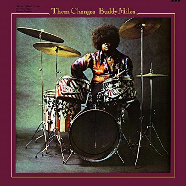 Buddy Miles THEM CHANGES Vinyl Record