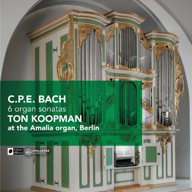 Ton Koopman 6 ORGAN SONATAS CD