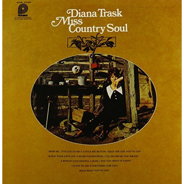 Diana Trask MISS COUNTRY SOUL Vinyl Record