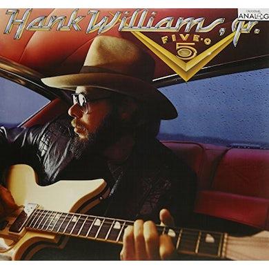 Hank Williams Jr. FIVE-O-FIVE: I'M FOR LOVE AIN'T MISBEHAVIN' Vinyl Record