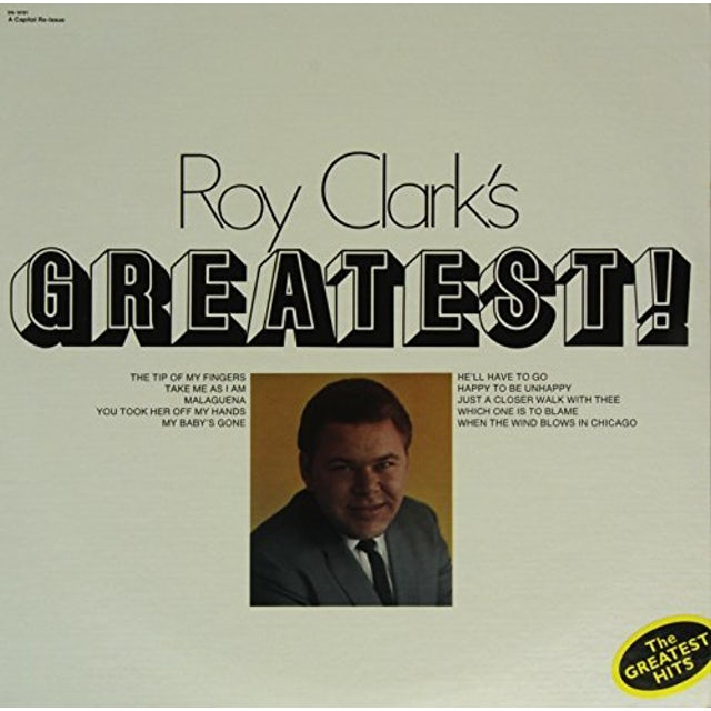 Roy Clark GREATEST HITS Vinyl Record