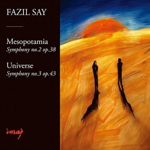 Fazil Say SYMPHONY NO.2 & 3 CD
