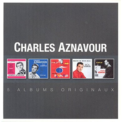 charles aznavour discographie