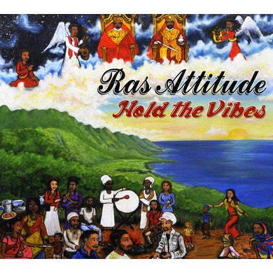 Ras Attitude HOLD THE VIBES CD