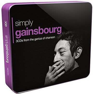 Serge Gainsbourg SIMPLY GAINSBOURG CD