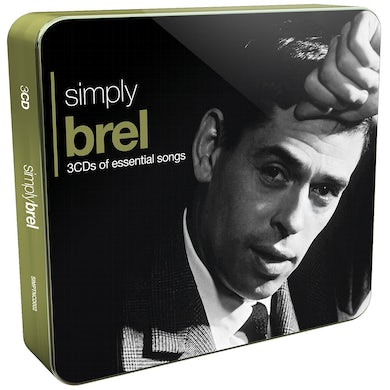 Jacques Brel SIMPLY BREL CD
