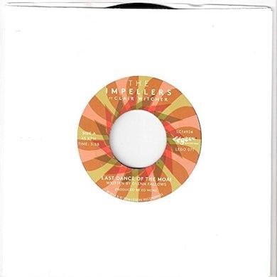 The Impellers LAST DANCE OF THE MOAI/VEEBER Vinyl Record - UK Release