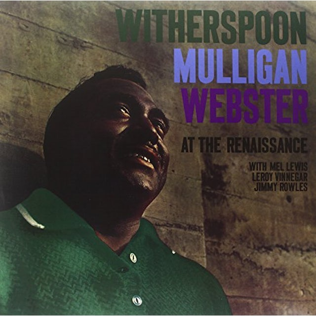 Jimmy Witherspoon / Gerry Mulligan AT THE RENAISSANCE Vinyl Record
