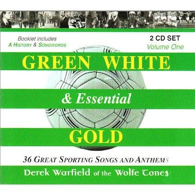 Derek Warfield GREEN WHITE & ESSENTIAL GOLD 1 CD