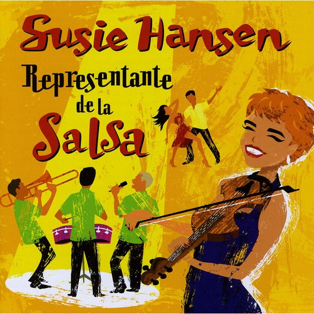 Susie Hansen REPRESENTANTE DE LA SALSA CD