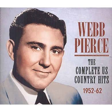 Webb Pierce COMPLETE US COUNTRY HITS 1952-62 CD