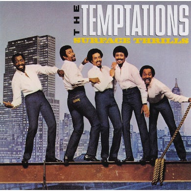 The Temptations SURFACE THRILLS CD