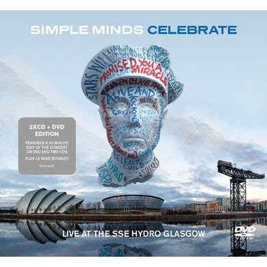 Simple Minds CELEBRATE-LIVE FROM THE SSE HYDRO GLASGOW CD