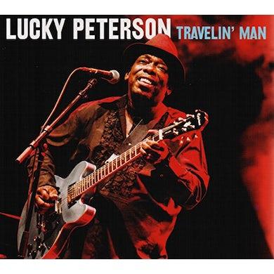 Lucky Peterson TRAVELIN MAN CD