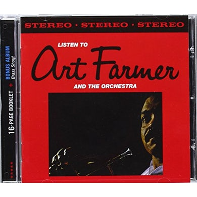 LISTEN TO ART FARMER & THE ORCHESTRA CD