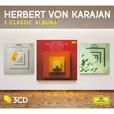 Herbert Von Karajan  THREE CLASSIC ALBUMS (SCHOENBERG/BERG/WEBERN) CD