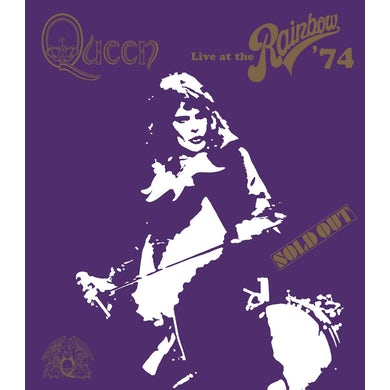Queen LIVE AT THE RAINBOW 74 DVD