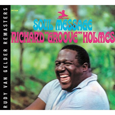 Richard Groove Holmes SOUL MESSAGE Vinyl Record