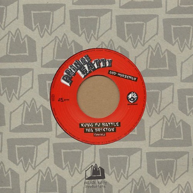 Prince Fatty KUNG FU BATTLE INA BRIXTON (Vinyl)