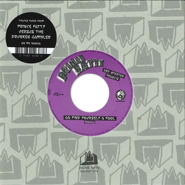 Prince Fatty GO FIND YOURSELF A FOOL Vinyl Record