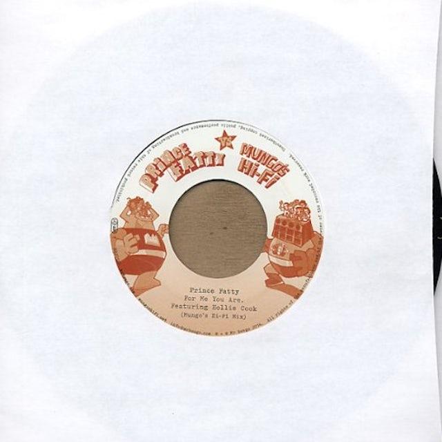 Prince Fatty FOR ME YOU ARE (MUNGO'S HIFI MIX) Vinyl Record
