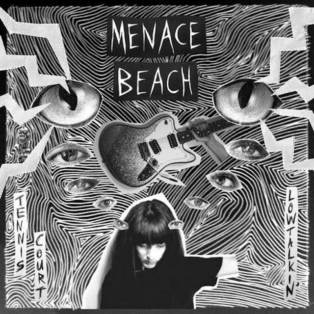 Menace Beach TENNIS COURT / LOWTALKIN Vinyl Record