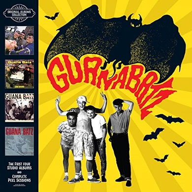 Guana Batz ORIGINAL ALBUMS PLUS PEEL SESSIONS COLLECTION CD