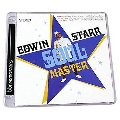 Edwin Starr SOUL MASTER: EXPANDED EDITION CD