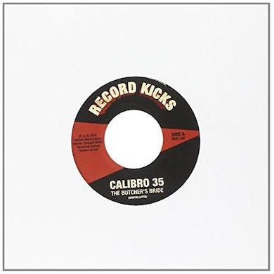 Calibro 35 BUCTHER'S BRIDE/GET CARTER Vinyl Record - UK Release