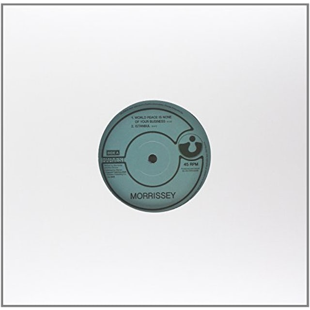 Morrissey WORLD PEACE IS NONE OF YOUR BUSINESS Vinyl Record - Holland Release