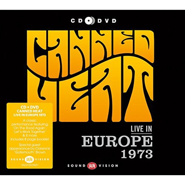 Canned Heat LIVE IN EUROPE 1973 CD