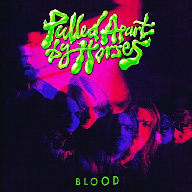 Pulled Apart By Horses BLOOD Vinyl Record