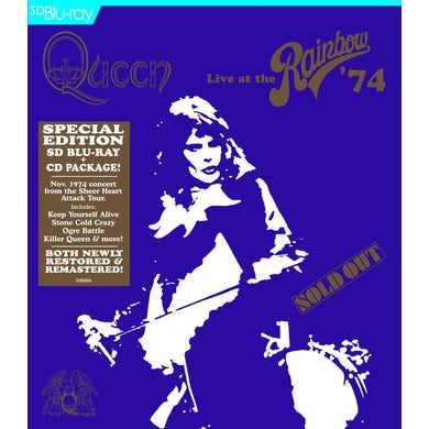 Queen LIVE AT THE RAINBOW 74 Blu-ray