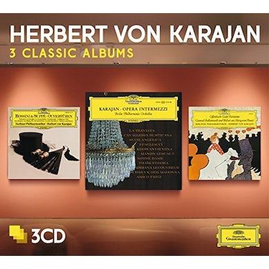 Herbert Von Karajan  THREE CLASSIC ALBUMS (OPERA INTERMEZZI/OFFENBACH-G CD