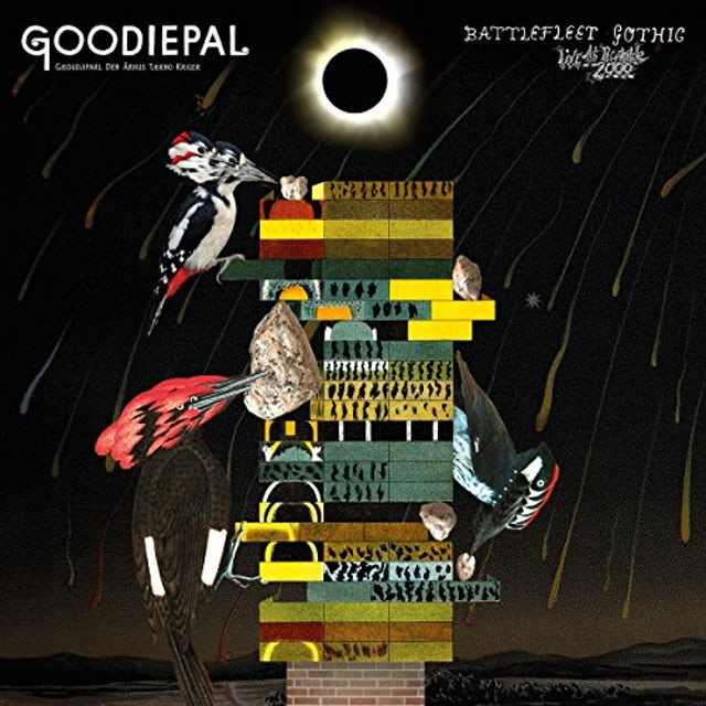 Goodiepal BATTLEFLEET GOTHIC: LIVE IN ROSKILDE 2000 Vinyl Record
