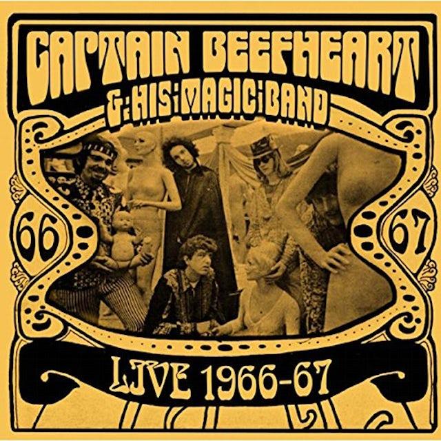 Captain Beefheart LIVE 1966-67 CD