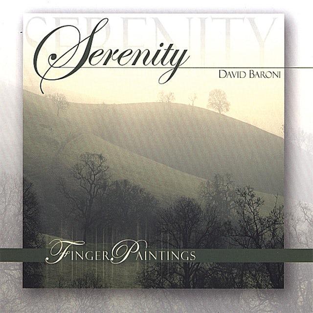 David Baroni FINGERPAINTINGS:SERENITY CD